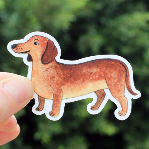 Sticker - Dachshund (Cactus Club)