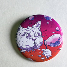 Load image into Gallery viewer, Magnet - 2.25 Inch: Bubble Cat - Sunset