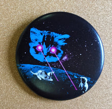 Load image into Gallery viewer, Magnet - 2.25 Inch: Meta Laser Cat - Color