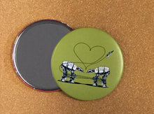 Load image into Gallery viewer, Mirror - 3.5 Inch: Love AT- AT First Sight - Green