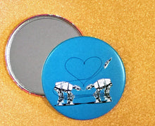 Load image into Gallery viewer, Mirror - 3.5 Inch: Love AT-AT First Sight - Blue