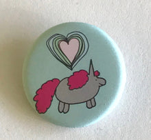 Load image into Gallery viewer, Magnet - 1.25 Inch: Chubby Unicorns