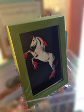 Load image into Gallery viewer, Unicorn Art Print: Unicorn on Roller Skates  Roller Derby Fanatics  Roller Skating Unicorn  Unicorn Art  Neon Pink