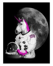 Load image into Gallery viewer, Postcard: Astronaut Unicorn