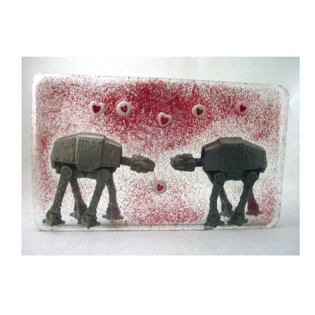 Postcard: Love AT-AT First Sight - Ten Pack