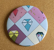 Load image into Gallery viewer, Mirror - 3.5 Inch: Literal Gem Pattern