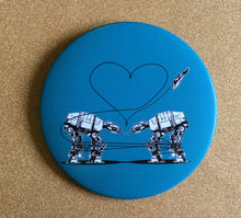 Load image into Gallery viewer, Magnet - 3.5 Inch - Love AT-AT First Sight: Blue