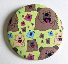 Load image into Gallery viewer, Magnet: 3.5 Inch - Growly Bear