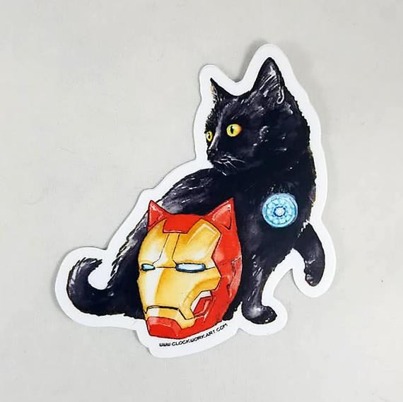 Sticker - Iron Cat