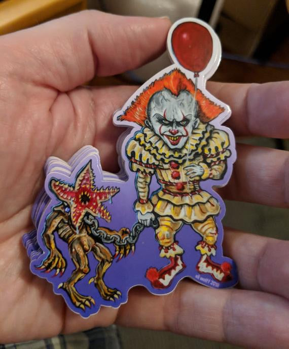 Sticker - Pennywise's Pet Demigorgon