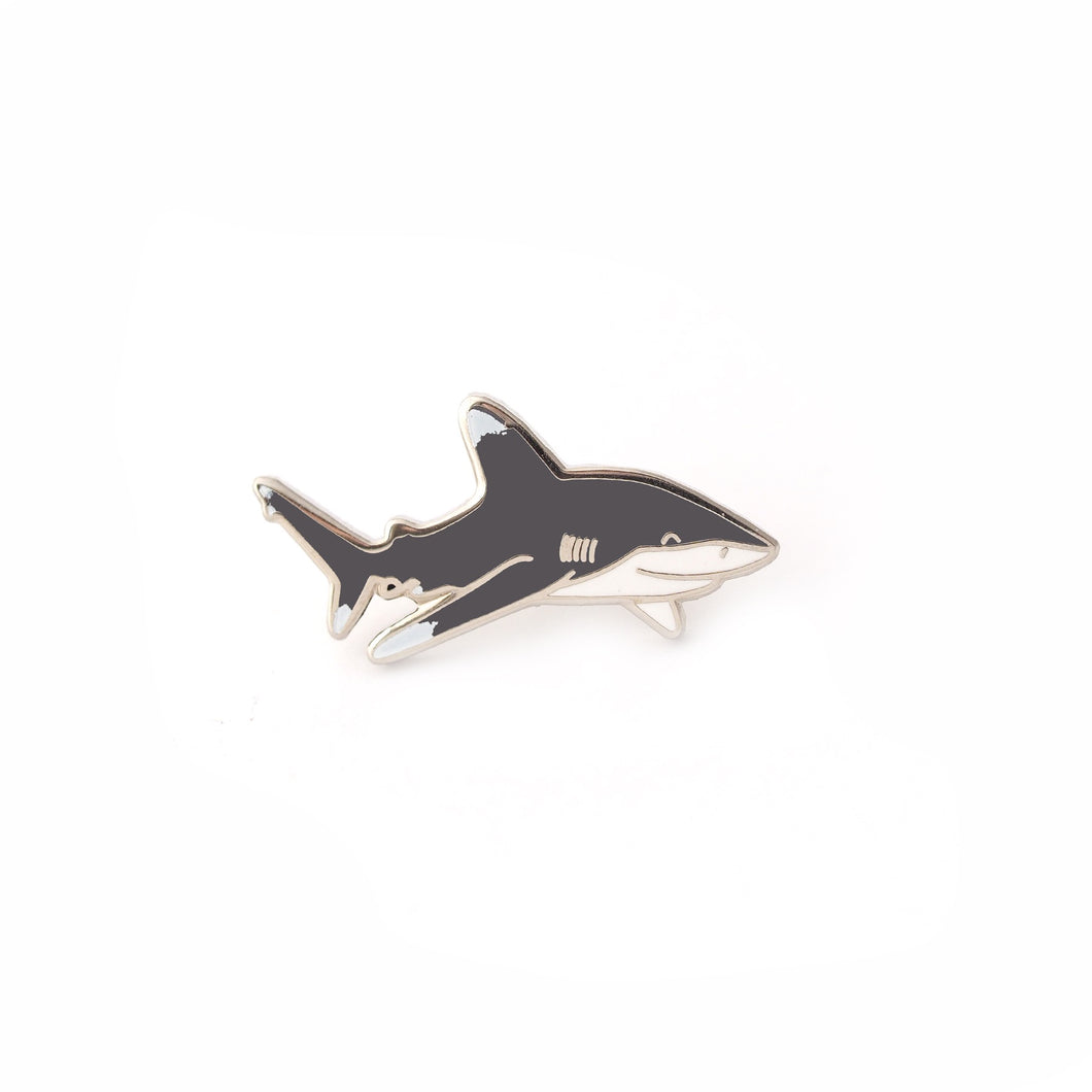 Enamel Pin - Mini Oceanic Whitetip Shark