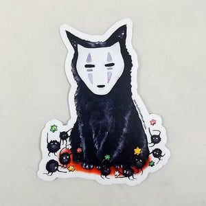 Sticker - No Face Kitten