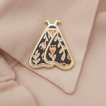 Load image into Gallery viewer, Enamel Pin - Moth