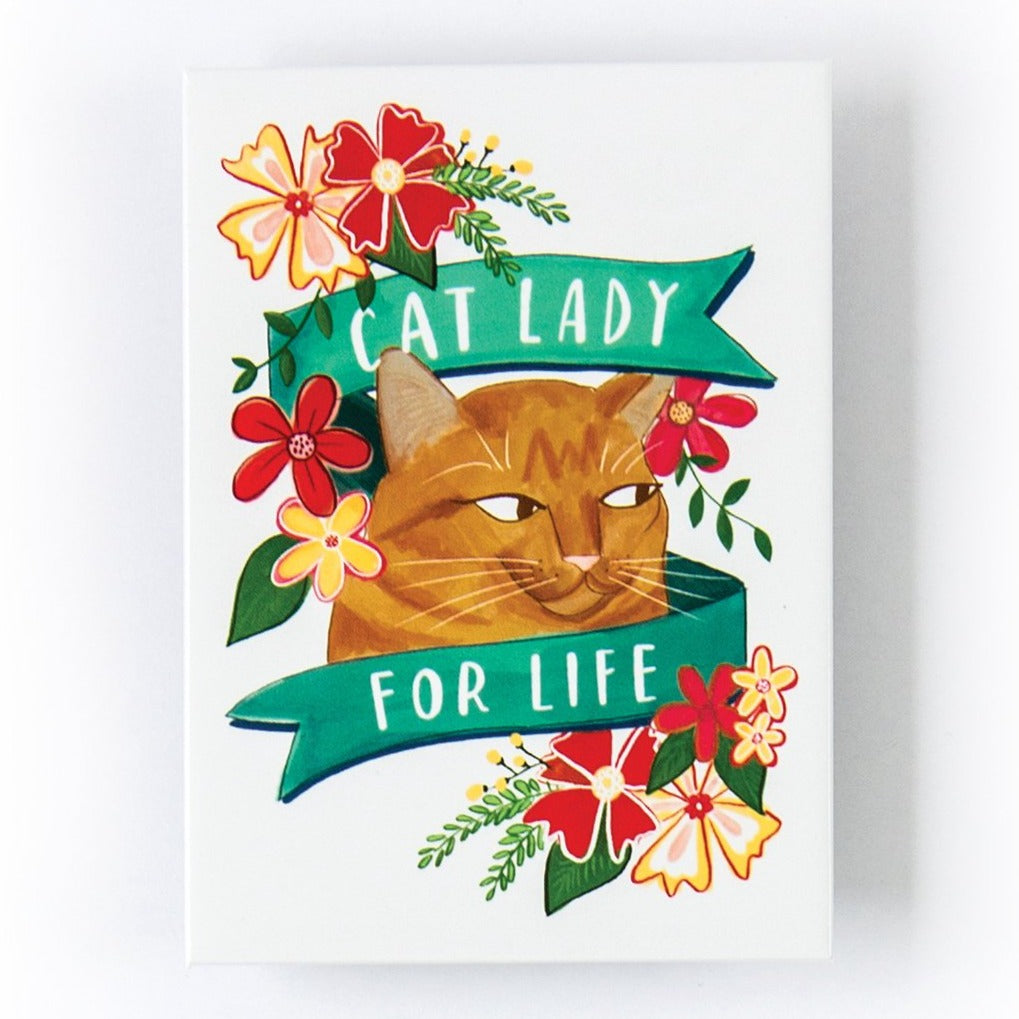 Magnet - Cat Lady For Life