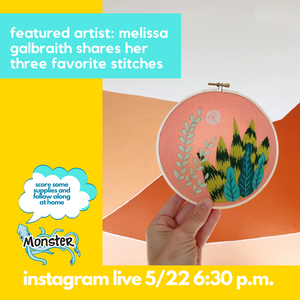 FEATURED ARTIST: Melissa Galbraith - My Three Favorite Stitches