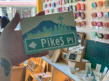 Load image into Gallery viewer, Postcard: It's Not Called Pikes Place Market - Street Sign - Ten Pack