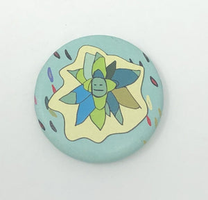 "1.25"" Button - Sentient Succulents (Three-Pack)"