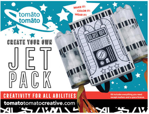 DIY Craft Kit: Jet Pack