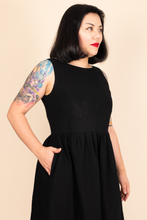 Load image into Gallery viewer, Dress - Black Pinafore