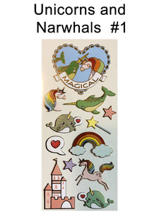 Unicorns and Narwhals