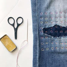 Load image into Gallery viewer, ONLINE CLASS: Visible Mending Workshop