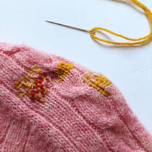 Load image into Gallery viewer, ONLINE CLASS: Darning Workshop