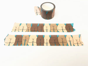 Washi Tape - Butts