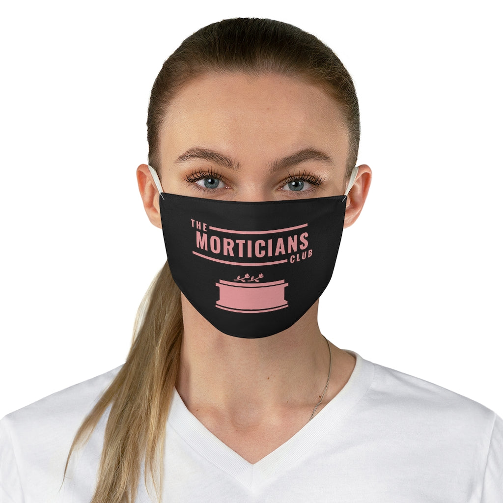 The Morticians Club Fabric Face Mask
