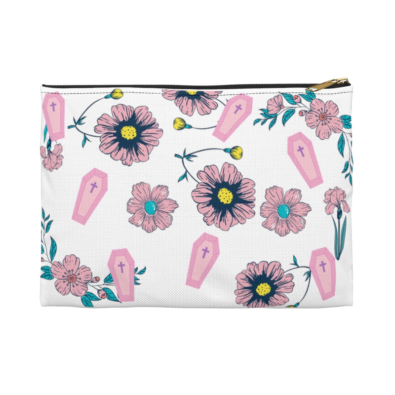 Coffins & Flowers Accessory Pouch
