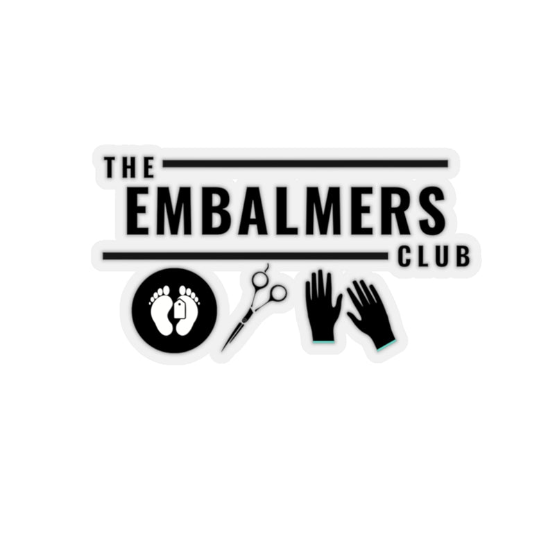 The Embalmers Club Kiss-Cut Stickers