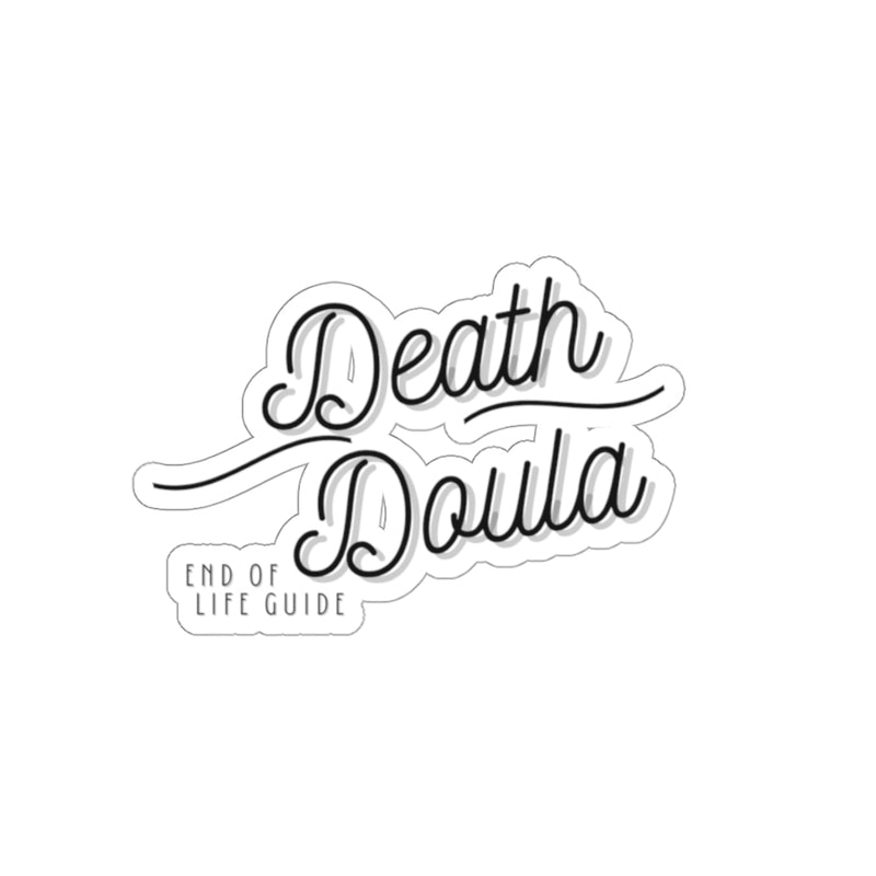 Death Doula Kiss-Cut Stickers