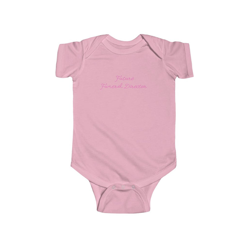 Future Funeral Director Infant Fine Jersey Bodysuit