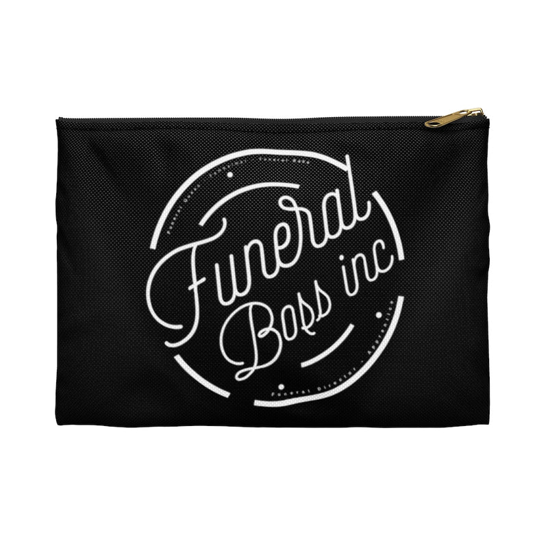 Funeral Boss Inc. Logo Accessory Pouch