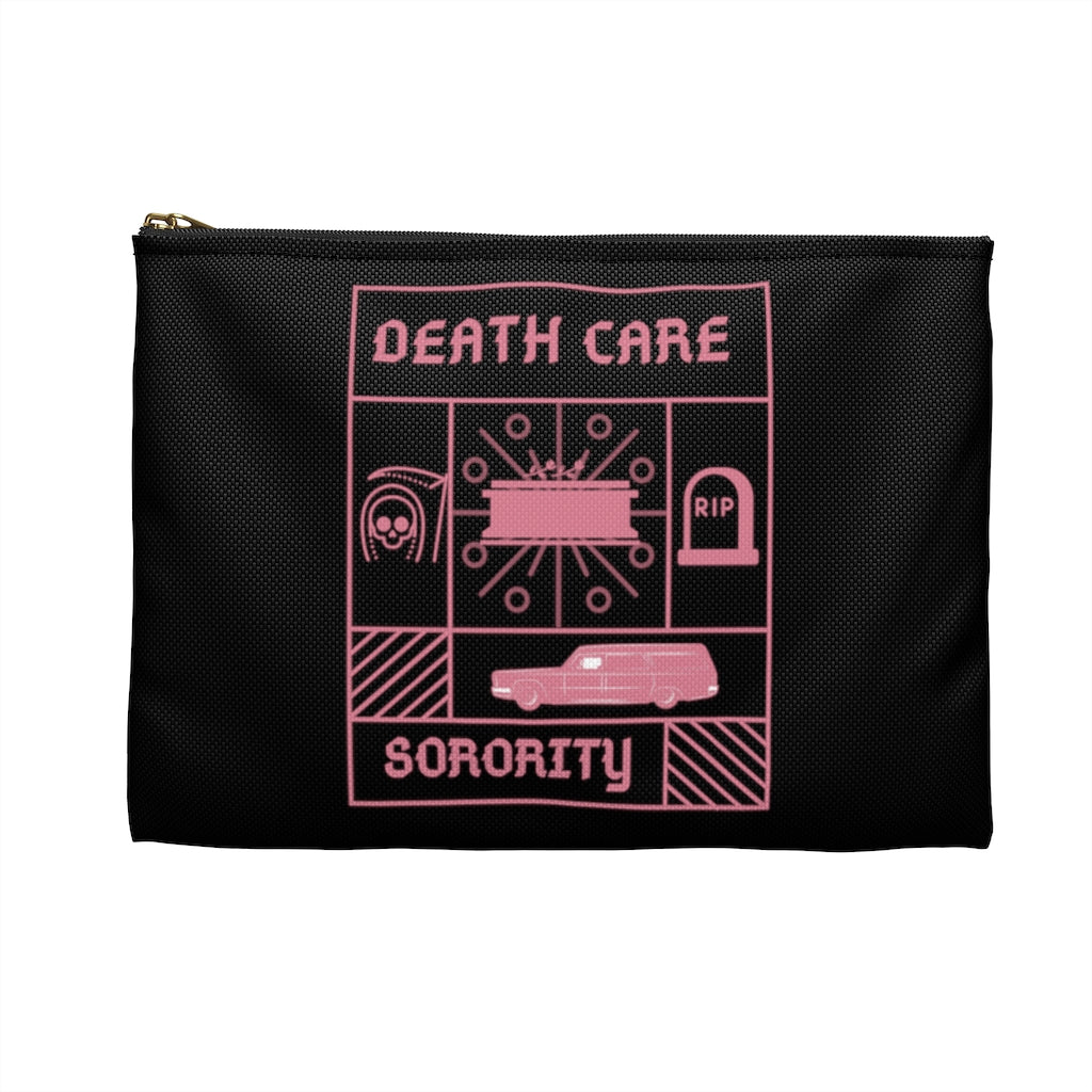 Death Care Sorority Accessory Pouch