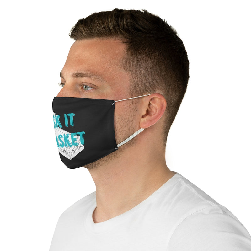 Mask it or Casket Fabric Face Mask