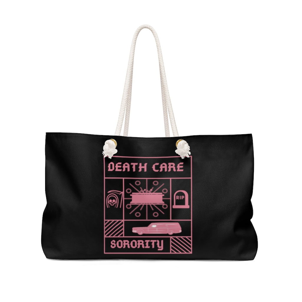 Death Care Sorority Weekender Bag