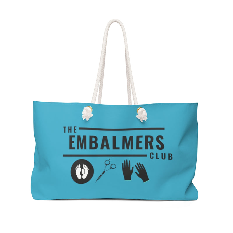 The Embalmers Club Weekender Bag
