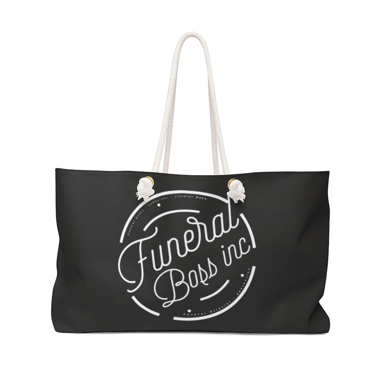 Funeral Boss Inc. Logo Weekender Bag