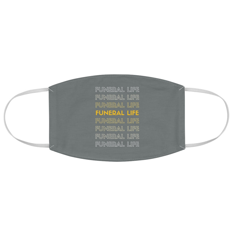 Funeral Life Fabric Face Mask