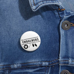 The Embalmers Club Custom Pin Buttons