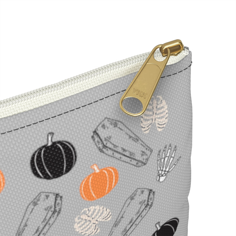 Coffins & Pumpkins Accessory Pouch