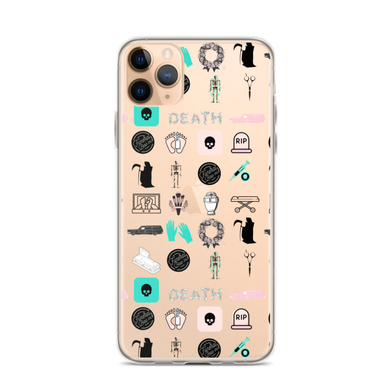 23 Death Icons iPhone Case