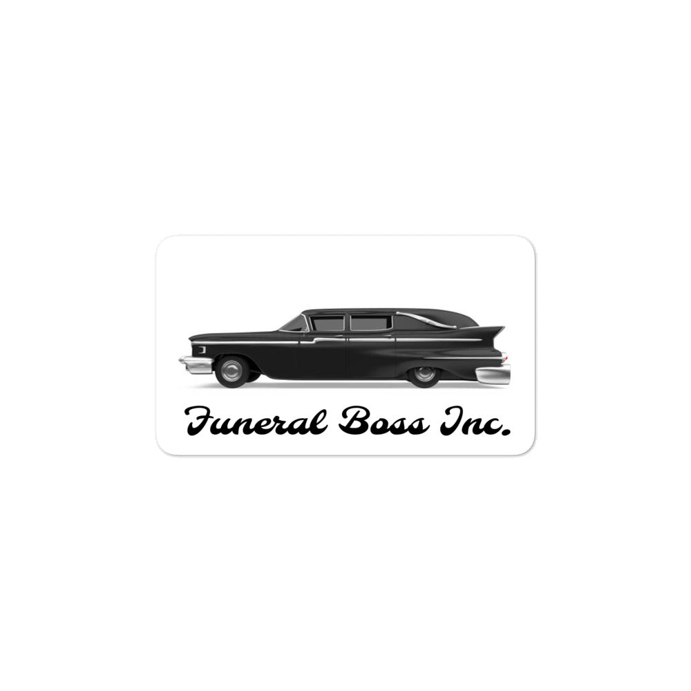 Classic Hearse Sticker