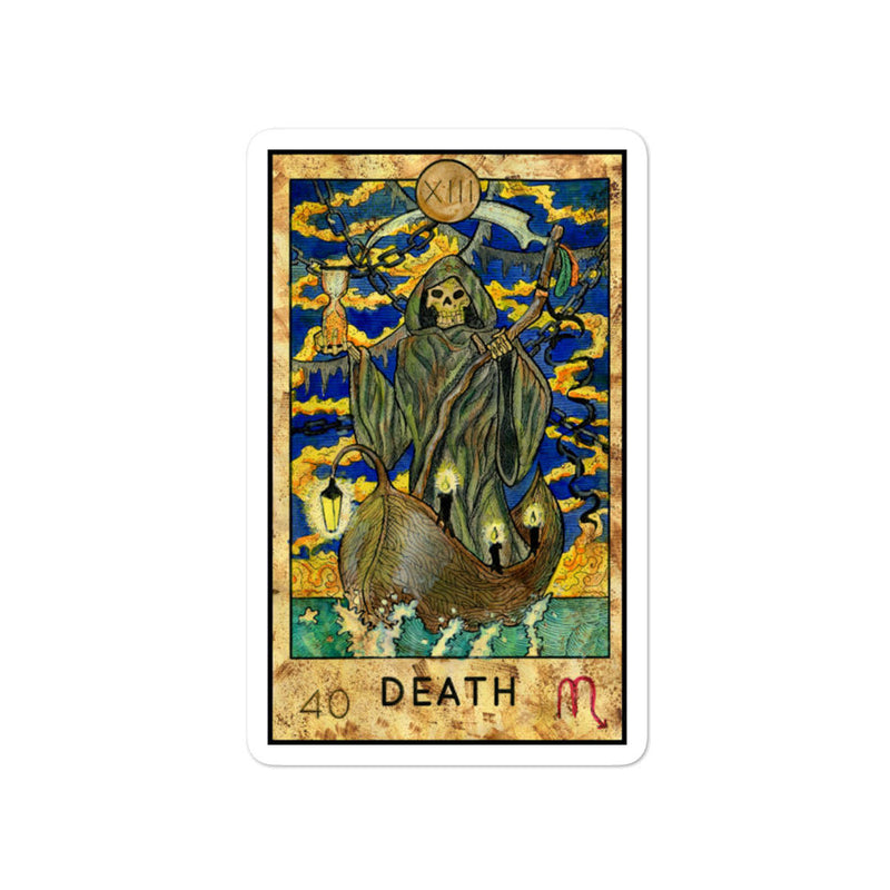 Death Card stickers