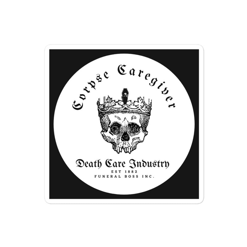 Corpse Caregiver stickers