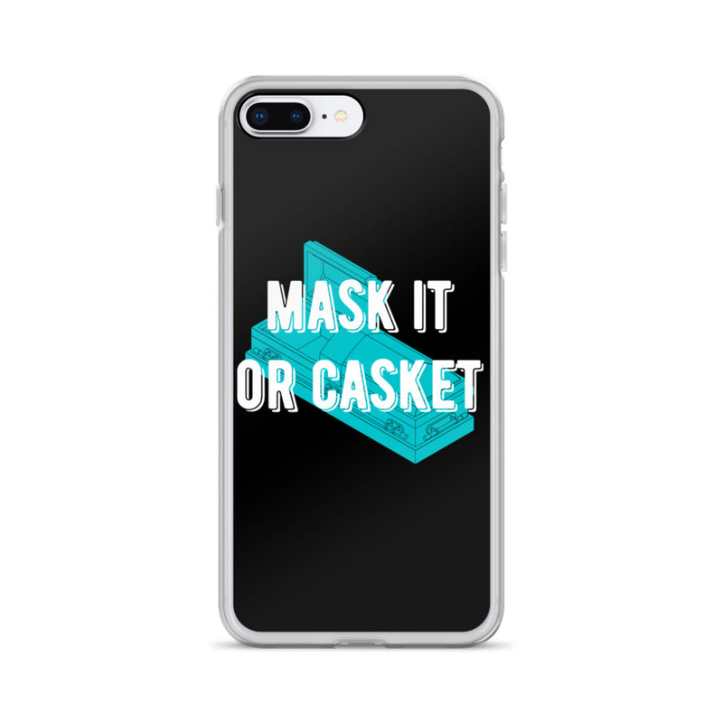 Mask it or Casket it iPhone Case