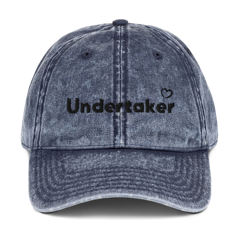Undertaker Vintage Cotton Twill Cap