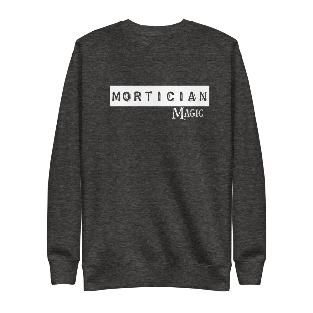 Mortician Magic Unisex Fleece Pullover