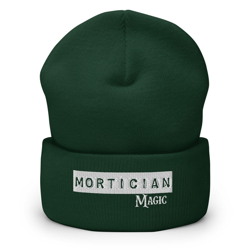 Mortician Magic Cuffed Beanie