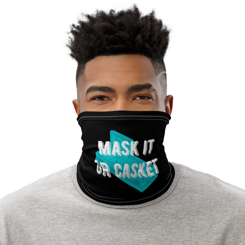Mask it or Casket Face Scarf